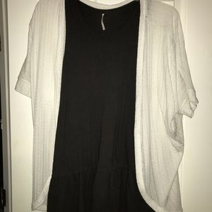 FreePeople Dress w Cardigan Bundle